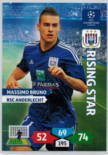 Rising Star, 2013-14 Adrenalyn Champions League, Massimo Bruno