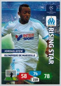 Rising Star, 2013-14 Adrenalyn Champions League, Jordan Ayew