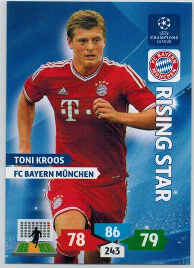 Rising Star, 2013-14 Adrenalyn Champions League, Toni Kroos