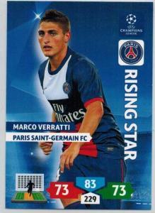 Rising Star, 2013-14 Adrenalyn Champions League, Marco Verratti