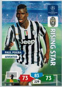 Rising Star, 2013-14 Adrenalyn Champions League, Paul Pogba