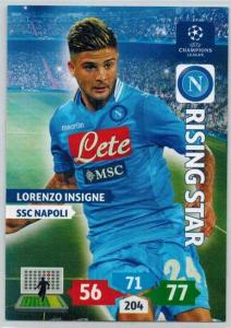 Rising Star, 2013-14 Adrenalyn Champions League, Lorenzo Insigne