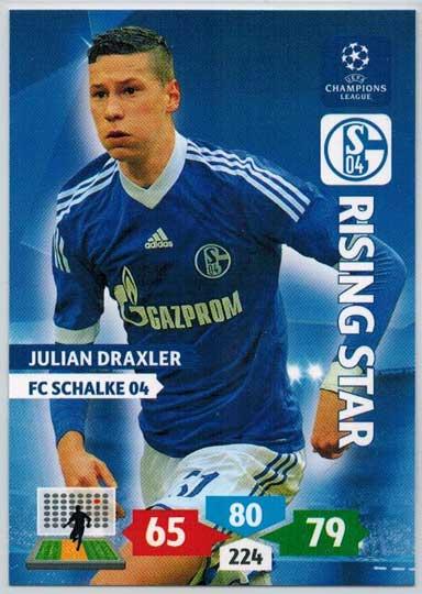 Rising Star, 2013-14 Adrenalyn Champions League, Julian Draxler
