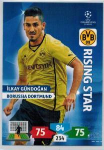 Rising Star, 2013-14 Adrenalyn Champions League, Ilkay Gundogan