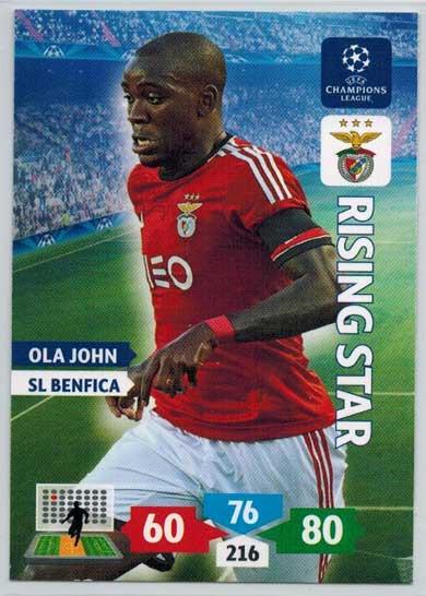 Rising Star, 2013-14 Adrenalyn Champions League, Ola John