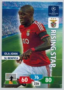 Rising Star, 2013-14 Adrenalyn Champions League, Ola John