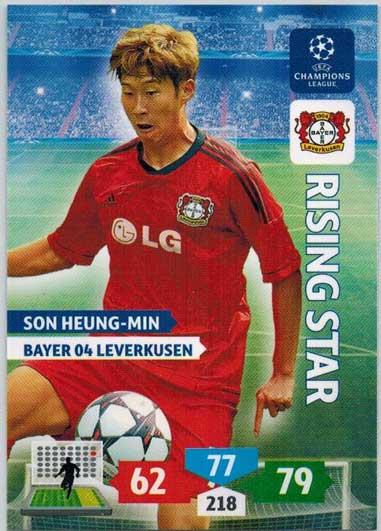 Rising Star, 2013-14 Adrenalyn Champions League, Son Heung-Min