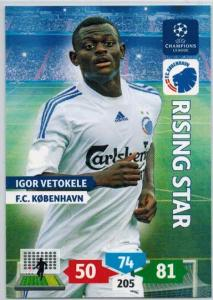 Rising Star, 2013-14 Adrenalyn Champions League, Igor Vetokele