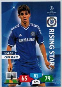 Rising Star, 2013-14 Adrenalyn Champions League, Oscar