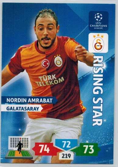 Rising Star, 2013-14 Adrenalyn Champions League, Nordin Amrabat