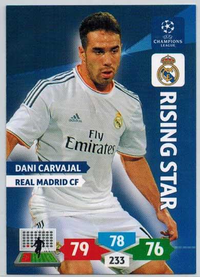 Rising Star, 2013-14 Adrenalyn Champions League, Dani Carvajal