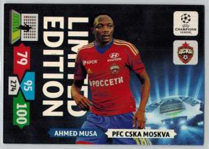 Limited Edition, 2013-14 Adrenalyn Champions League, Ahmed Musa