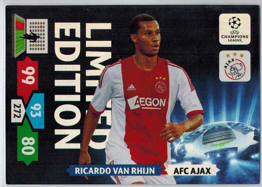 Limited Edition, 2013-14 Adrenalyn Champions League, Ricardo Van Rhijn