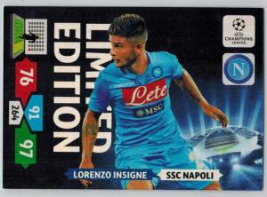 Limited Edition, 2013-14 Adrenalyn Champions League, Lorenzo Insigne
