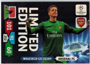 Limited Edition, 2013-14 Adrenalyn Champions League, Wojciech Szczesny