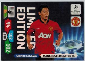 Limited Edition, 2013-14 Adrenalyn Champions League, Shinji Kagawa