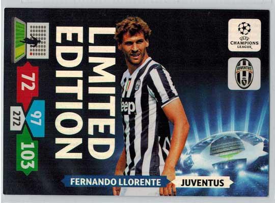 Limited Edition, 2013-14 Adrenalyn Champions League, Fernando Llorente