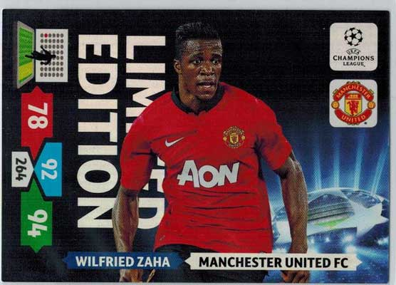 Limited Edition, 2013-14 Adrenalyn Champions League, Wilfried Zaha