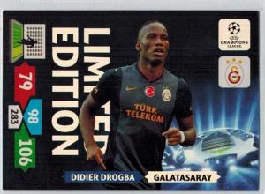 Limited Edition, 2013-14 Adrenalyn Champions League, Didier Drogba