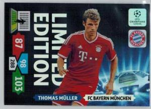 Limited Edition, 2013-14 Adrenalyn Champions League, Thomas Muller / Thomas Müller