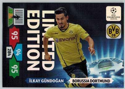 Limited Edition, 2013-14 Adrenalyn Champions League, Ilkay Gundogan