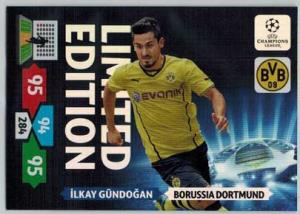 Limited Edition, 2013-14 Adrenalyn Champions League, Ilkay Gundogan