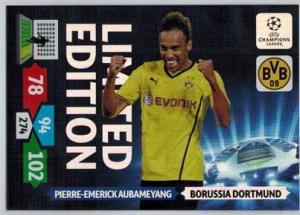 Limited Edition, 2013-14 Adrenalyn Champions League, Pierre-Emerick Aubameyang