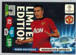 Limited Edition, 2013-14 Adrenalyn Champions League, Robin Van Persie