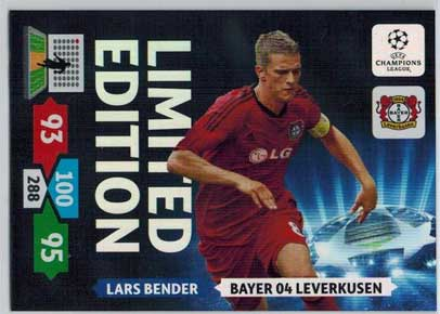 Limited Edition, 2013-14 Adrenalyn Champions League, Lars Bender