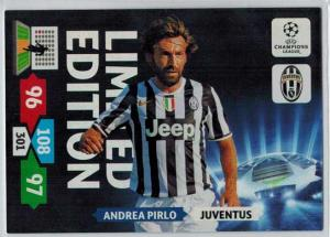 Limited Edition, 2013-14 Adrenalyn Champions League, Andrea Pirlo