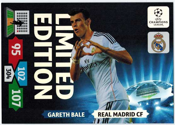 XXL Limited Edition, 2013-14 Adrenalyn Champions League, Gareth Bale