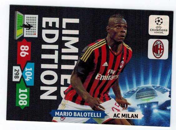 Limited Edition, 2013-14 Adrenalyn Champions League, Mario Balotelli
