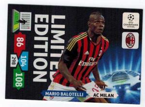 Limited Edition, 2013-14 Adrenalyn Champions League, Mario Balotelli