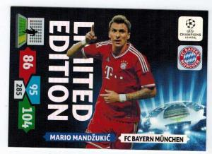 Limited Edition, 2013-14 Adrenalyn Champions League, Mario Mandzukic