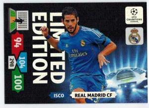 Limited Edition, 2013-14 Adrenalyn Champions League, Isco