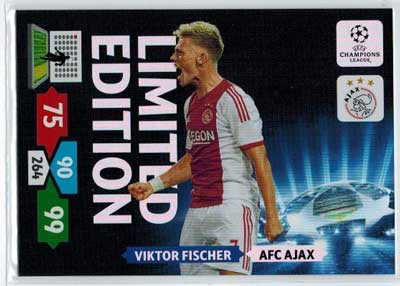 Limited Edition, 2013-14 Adrenalyn Champions League, Viktor Fischer