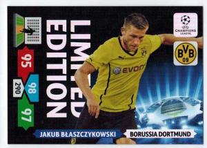Limited Edition, 2013-14 Adrenalyn Champions League, Jakub Blaszczykowski