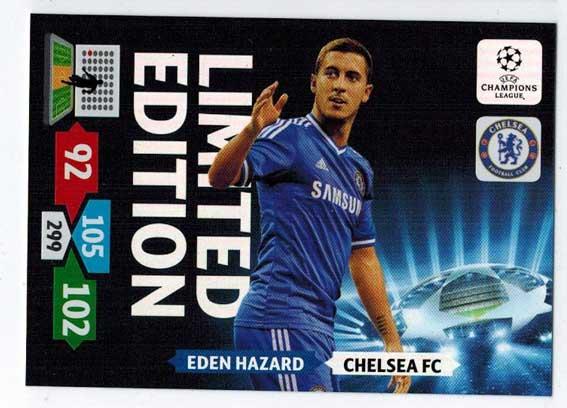 Limited Edition, 2013-14 Adrenalyn Champions League, Eden Hazard