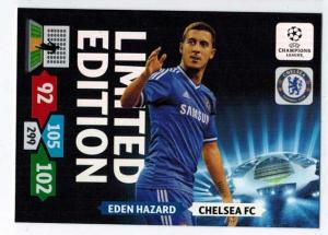 Limited Edition, 2013-14 Adrenalyn Champions League, Eden Hazard