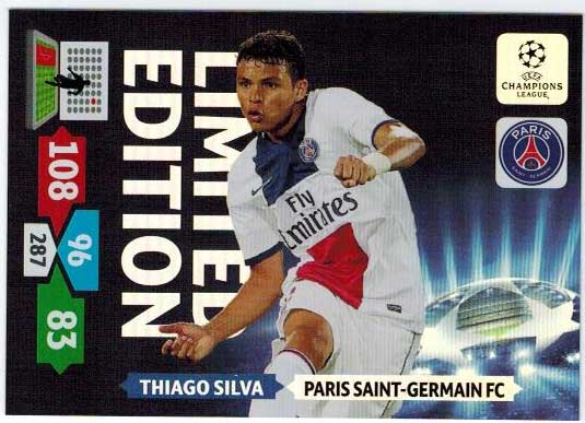 Limited Edition, 2013-14 Adrenalyn Champions League, Thiago Silva