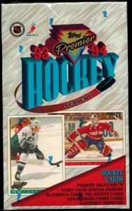 Sealed Box 1993-94 Topps Premier s.2