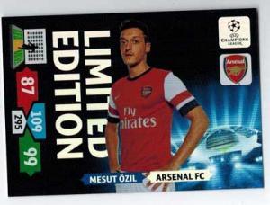 Limited Edition, 2013-14 Adrenalyn Champions League, Mesut Ozil / Mesut Özil