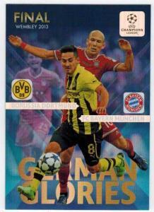 German Glories, 2013-14 Adrenalyn Champions League, Final: FC Bayern Munchen / Borussia Dortmund