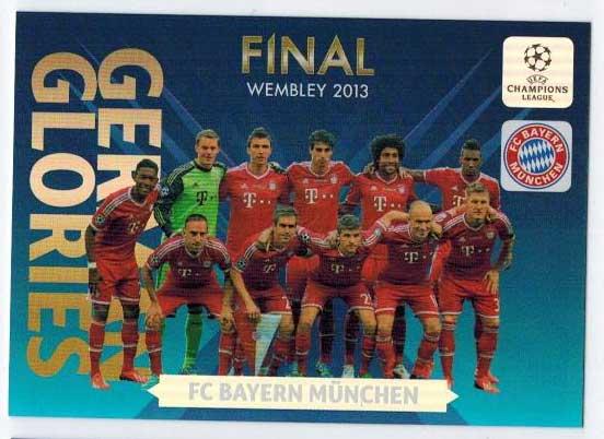 German Glories, 2013-14 Adrenalyn Champions League, FC Bayern Munchen
