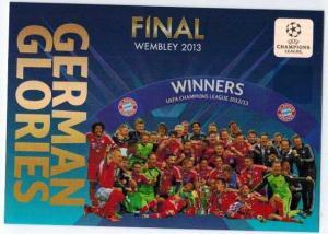 German Glories, 2013-14 Adrenalyn Champions League, Winners: FC Bayern Munchen