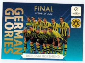 German Glories, 2013-14 Adrenalyn Champions League, Borussia Dortmund