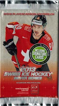 1 Pack 2013 Swiss Ice Hockey Silver Series