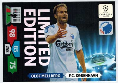 XXL Limited Edition, 2013-14 Adrenalyn Champions League, Olof Mellberg