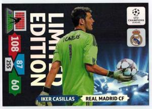 XXL Limited Edition, 2013-14 Adrenalyn Champions League, Iker Casillas