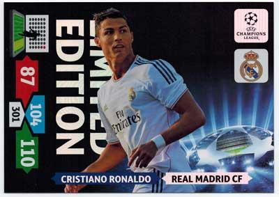 XXL Limited Edition, 2013-14 Adrenalyn Champions League, Cristiano Ronaldo